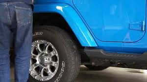 how to change your sport fender flares to sahara color matched