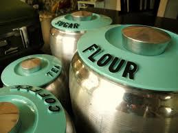 148 best vintage kitchen canisters u0026 tins images on pinterest