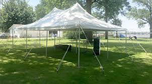 outdoor graduation party under 20 u0027 x 30 u0027 and pole tent east