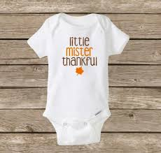 mister thankful onesie mr thankful baby boy onesie