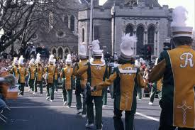 march in the st patricks day parade ireland u2014 celtic footstep