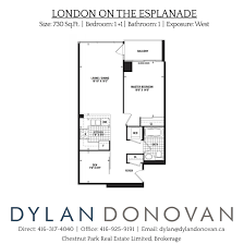 Den Floor Plan 1 Scott Street Floor Plans Luxury Toronto Condos