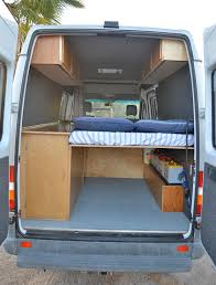 Camper Interiors Sprinter Rv Diy Sprinter Rv Conversion Gallery