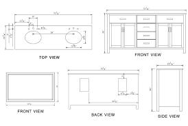 Vessel Sink Cabinet Height Width Of Double Vanity Standard Height Of Bathroom Vanity Design