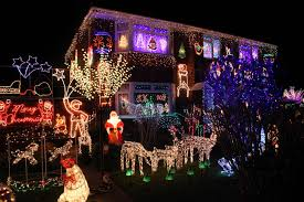 best christmas lights for house in pictures gloucester s best christmas house has its lights on and