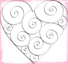 imagenes de amor para dibujar grandes dibujos de corazones grandes para colorear