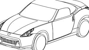 nissan 350z drawing nissan 370z roadster world debut set for new york