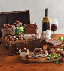 wine and chocolate gift basket wine gift baskets wine basket delivery harry david