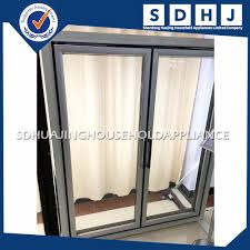 Aluminium Glass Doors Price by Aluminium Glass Sliding Doors For Store Cold Storage Freezer With