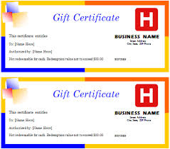 travel gift certificates travel gift certificate document hub