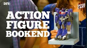 diy action figure bookends dweebcast oratv youtube