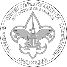 boy scout commemorative silver coins