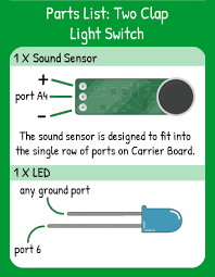 how to install clap on lights two clap lightswitch coding kit let s start coding