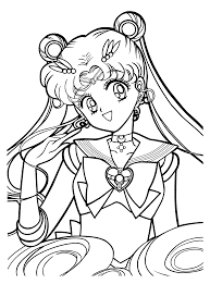 sailor moon coloring pages sailormoon coloring pages free coloring
