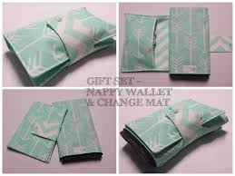 chagne gift set nappy wallet babyshower gift set nappy wallet and travel change