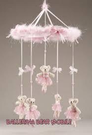 Ballerina Chandelier Pink Ballerina Bear Mobile Baby Crib Mobile Baby Pinterest