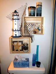 themed shelves themed shelves i just finished in my bathroom home