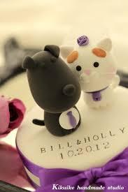 pig and dog wedding cake topperk872
