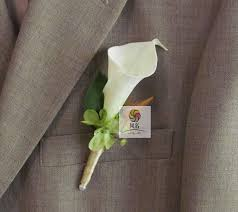 calla boutonniere artificial flowers real touch calla corsages handmade