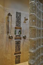 mosaic tile shower walk in shower and ceramic mosaic tile