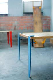 pieds de cuisine r lable pieds de table modulable façon serre joint by https tiptoe fr