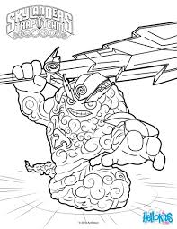 thunder bolt coloring pages hellokids com