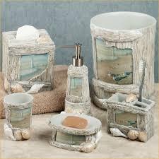 beach bathroom accessories themed bathroom accessories themed