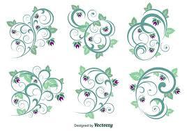 floral ornament vectors free vector stock graphics