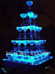 cupcake stand with led lights acrylic cupcake stands
