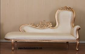 Cleopatra Chaise Lounge Baroque French Reproduction Louis Xvi Style Fainting Couch Or