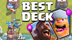 clash of clans hog rider best lumberjack deck after august update clash royale