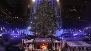 rockefeller tree lights up cnn travel