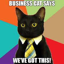 We Got This Meme - business cat says we ve got this meme business cat 65270