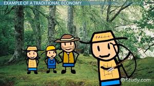 what is a traditional economy definition characteristics