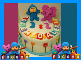 pocoyo halloween pocoyo happy birthday themed cake margaretcookies