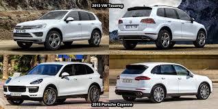 porsche cayenne reviews 2015 benim otomobilim 2015 porsche cayenne vs 2015 vw touareg visual