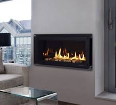 fascinating and pleasant slim gas fireplace meant for furnishings