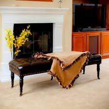 ottoman astonishing stacey leather ottoman from macys brown