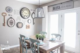 breakfast area 1 rustic industrial breakfast room 2 ways bless er house