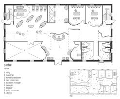 floor plan of commercial building home plans small business floor beautiful gallery and restaurant