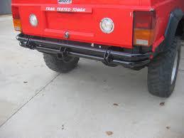 prerunner jeep xj rusty u0027s offroad xj cherokee rear pre runner tube bumper with