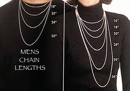 mens necklace chains length images Bulk sterling chain all lengths many styles of silver chain jpg