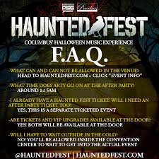 haunted fest 2017 october 27 2017 u2013 columbus oh