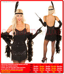 halloween 1920s costumes 1920s black gangster flapper sequin costume