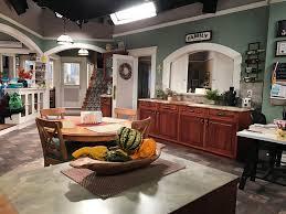 Walk Through Kitchen Designs Kevin Can Wait Set Tour And Cast Interviews Kevincanwaitcbs