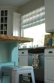Roman Shades For Kitchen Roman Curtain
