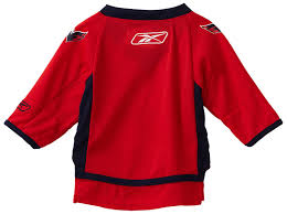 infant motocross gear amazon com nhl infant washington capitals team color replica