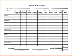 Free Restaurant Inventory Spreadsheet 10 Sample Bar Inventory Spreadsheet Excel Spreadsheets Group