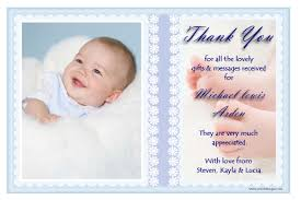 baby thank you cards side thank you cards baby amazing design photo