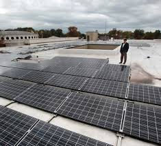 solar panels installed to pick up part of euclid library u0027s power